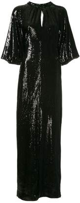 Osman sequinned long dress