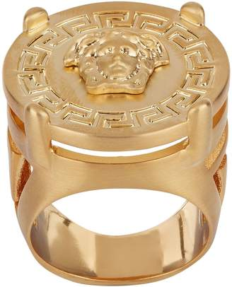 Versace Medusa Medallion Ring