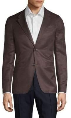 Hickey Classic Silk & Linen Sportcoat
