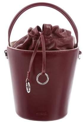 Cafuné Leather Bucket Bag