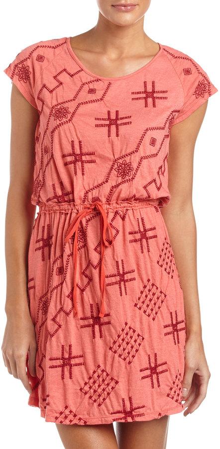 JWLA Saffron Drawstring Dress