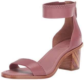 Frye Women's Brielle BIAS Zip Flat Sandal 8 M US