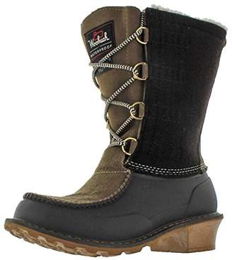 Woolrich Women's Fully Wooly Lace Winter Boot