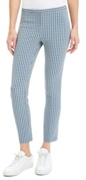 Theory Windowpane Classic Skinny Pants