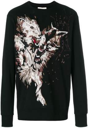 Ih Nom Uh Nit printed design sweatshirt