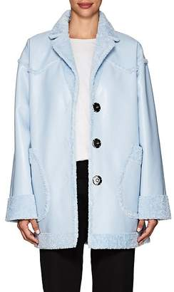 Opening Ceremony Women's Reversible Faux-Leather & Faux-Shearling Coat