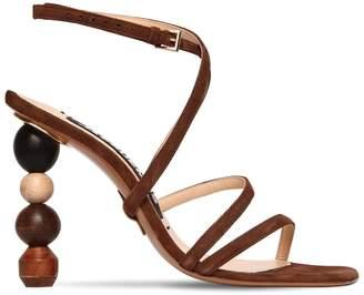 90mm Rumba Suede Sandals