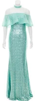 Jovani Sequin Embellished Evening Dress