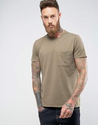 Nudie Jeans Anders Mended T-Shirt