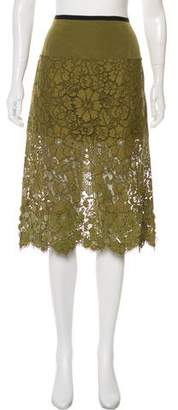 Dries Van Noten Embellished Lace Skirt