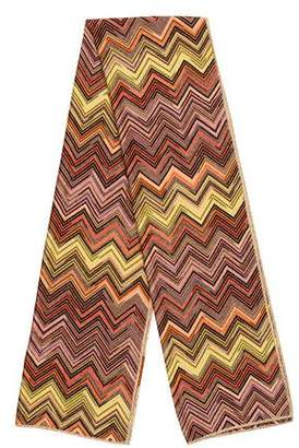 Missoni Chevron Metallic Scarf