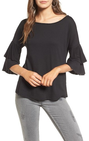 Women's Ten Sixty Sherman Ruffle Sleeve Tee