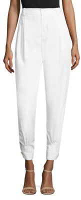 Polo Ralph Lauren High-Waist Tapered Pants $198 thestylecure.com