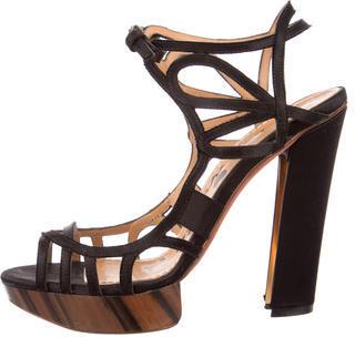 LanvinLanvin Multistrap Platform Sandals