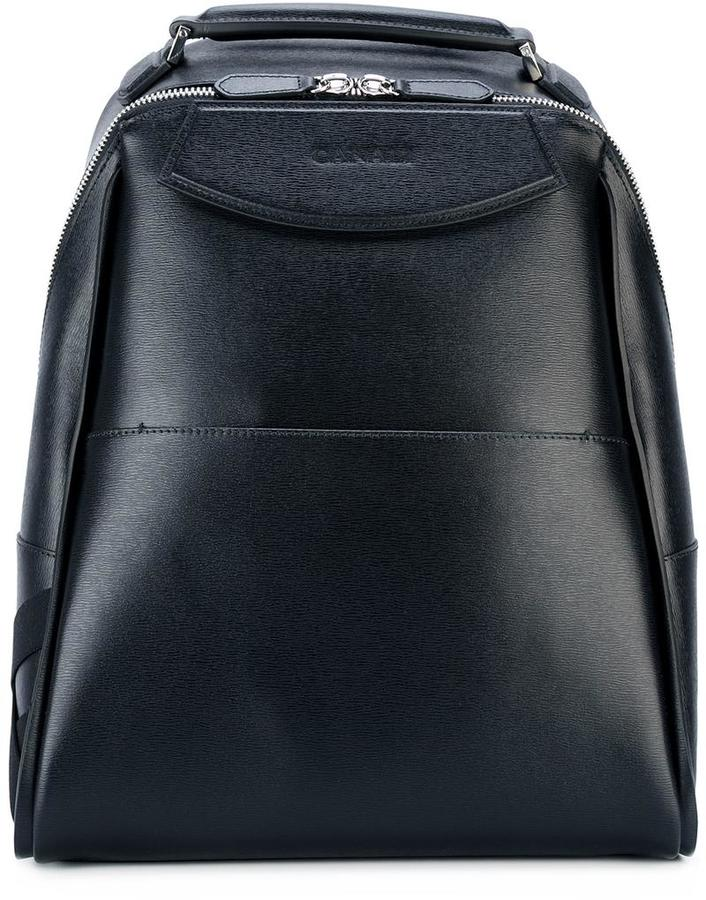Canali Canali double zip backpack