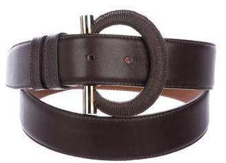 Celine Leather Waist Belt