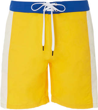 88cacb394fb Solid & Striped Colorblocked Long Boardshorts