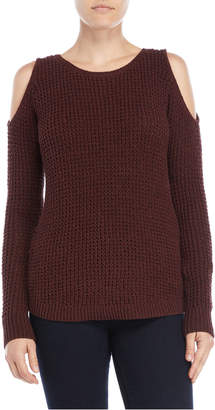 Lilla P Cold Shoulder Sweater