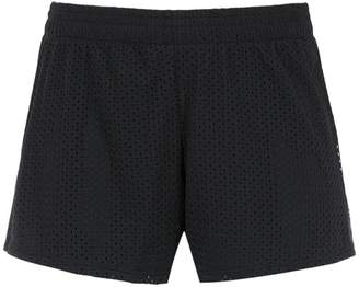 Track & Field mesh panelled shorts