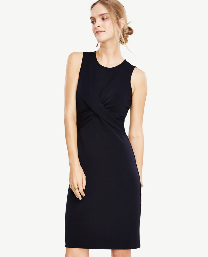 Ann Taylor Twist Sheath Dress