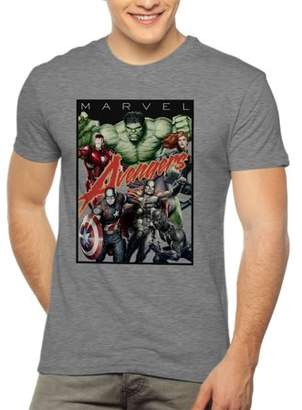 Marvel Men's Avengers Short Sleeve Graphic T-Shirt, up to 2XL