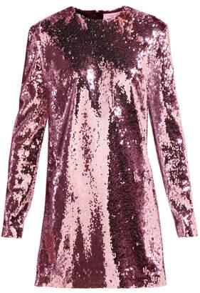 ara Racil Sequinned Mini Dress - Womens - Pink