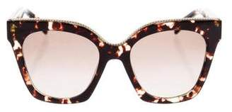 Marc Jacobs Tortoiseshell Cat-Eye Sunglasses