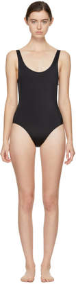 Solid and Striped Black The Anne-Marie Swimsuit