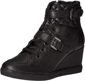 Geox Women's D Eleni C Casual Sport Sneaker