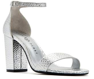 Katy Perry The Goldy Hammered Metallic Sandal