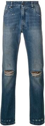 Fendi straight-leg trousers