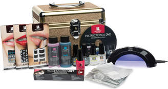 Red Carpet Manicure Glitter Train Case Gel Polish