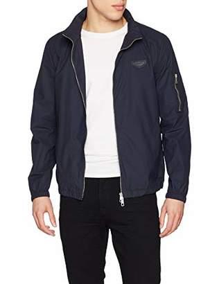 Antony Morato Men's's Giubbino Elastic Al Fondo Con Tasca Manica Bomber Jacket