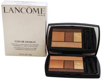 Lancôme 0.14Oz Women's #101 Bronze Amour Color Design 5-Shadow & Liner Palette