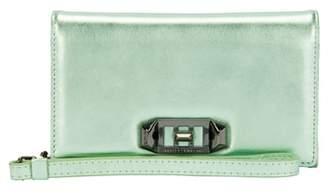 Rebecca Minkoff Love Lock iPhone X Leather Wristlet Folio