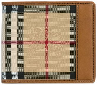 Burberry house check small wallet $303.76 thestylecure.com