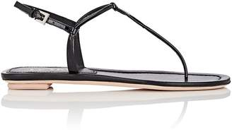Prada Women's Leather Thong Sandals