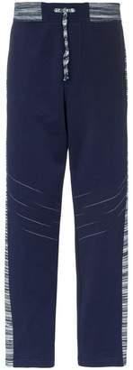Missoni drawstring stripe trim track pants
