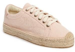 Women's Soludos Espadrille Sneaker $89.95 thestylecure.com