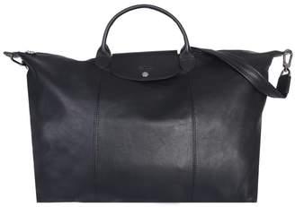 Longchamp Le Pliage Cuir Travel Bag