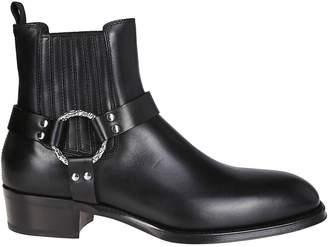 Alexander McQueen Cuban Heel Boots