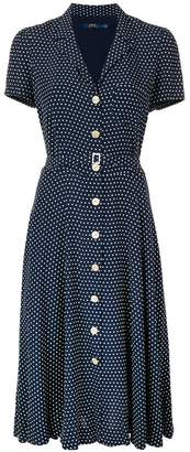 Polo Ralph Lauren polka dot print dress