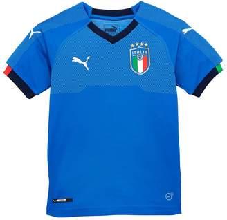 Puma Junior Italy Replica Home Shirt