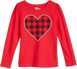 Epic Threads Little Girls Heart-Print T-Shirt