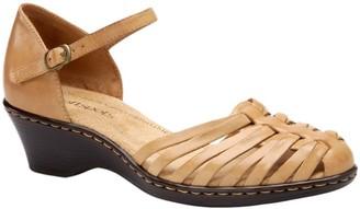 Softspots Comfortiva Leather Huarache Sandals -Tatianna