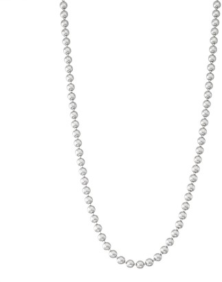 Men's Sterling Silver Ball Chain Necklace
