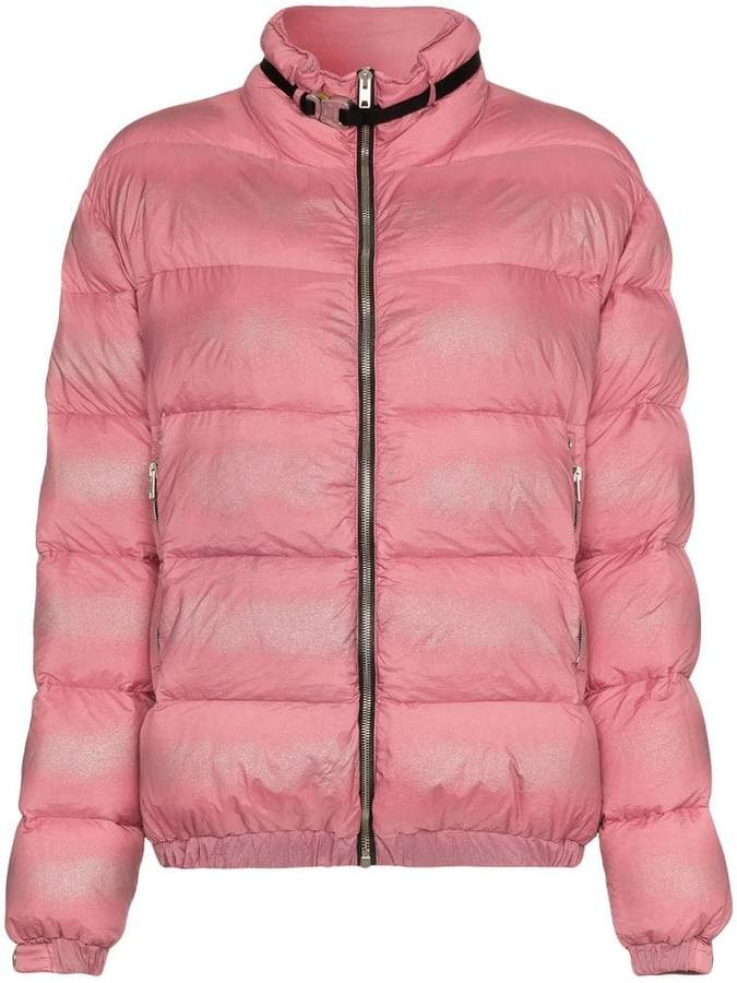 1017 Alyx 9SM buckle embellished feather down padded jacket