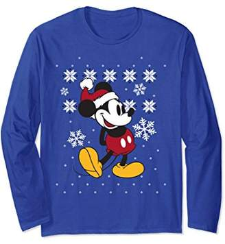 Disney Mickey Mouse Winter Spirit Long Sleeve T-shirt