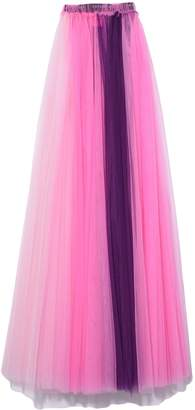 Viktor & Rolf Chase The Rainbow II Skirt/Dress in Purple Rainbow