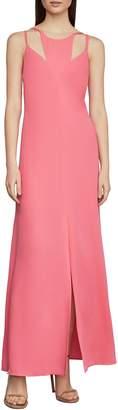 BCBGMAXAZRIA Strappy Cut-Out Maxi Dress